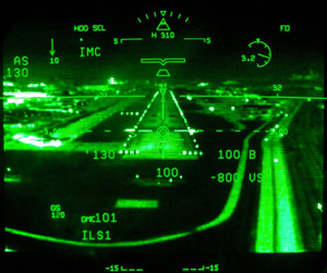 Enhanced Vision System And The New Quot Ils Quot Approach Capability